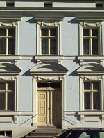 Barockfassade in der Ersten Stadterweiterung
